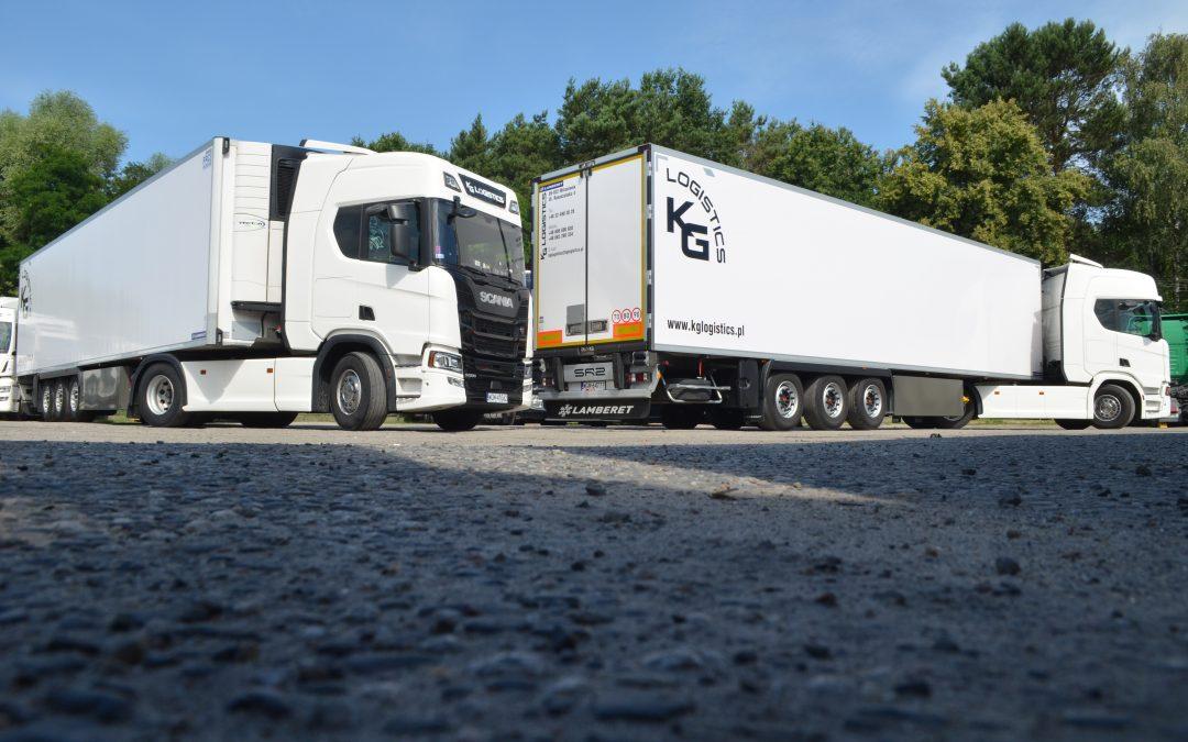 Lamberet – Wydanie pojazdu dla KG Logistics